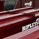 Lockable Skips for Scrap Metal